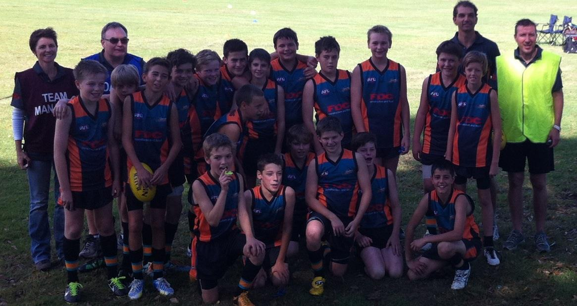 Cannons first game team photo