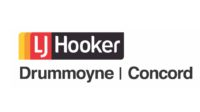 LJ Hooker Drummoyne and Concord logo