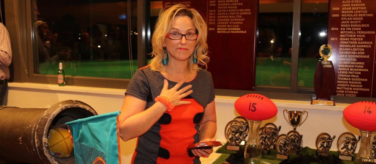 Vicky Caulfield - life member