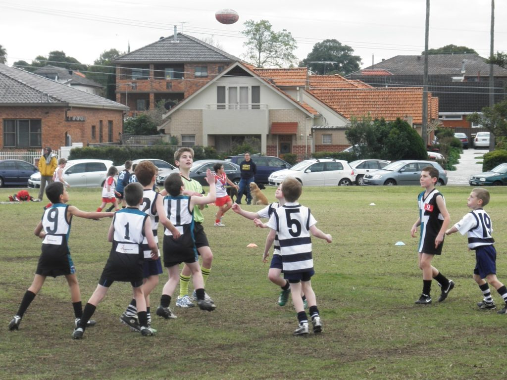 2010 Concord Cats v Drummoyne Power